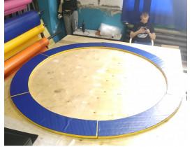 Защитный мат для круглого батута
