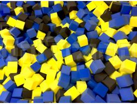 Поролоновые кубики для ямы 20х20х20 (м. куб)