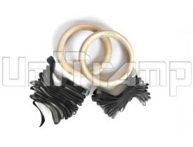 Гимнастические кольца с подвесами (5 м)