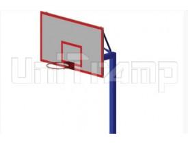 Стойка баскетбольная, без щита для батутной зоны